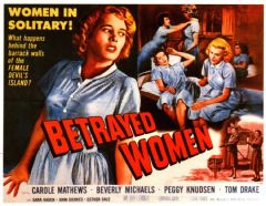 Betrayed Women 1955 DVD - Carole Mathews / Beverly Michaels